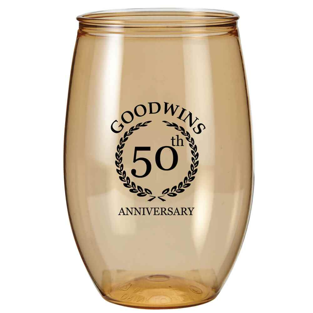 Stemless Tritan™ Glass 16-Oz. - Personalization Available