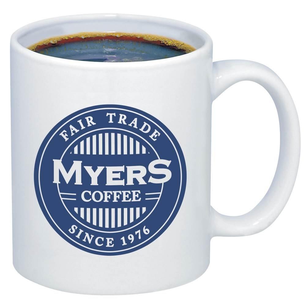 White Ceramic Value Mug 11-Oz. - Personalization Available