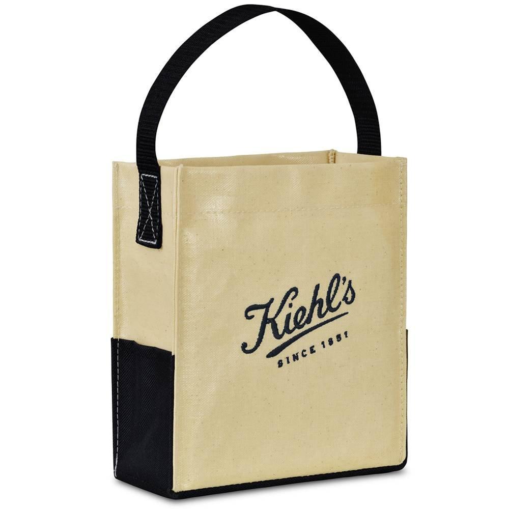Kali Coated Cotton Mini Tote - Personalization Available