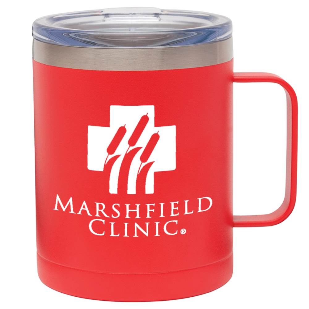 Vacuum Insulated Coffee Mug with Handle 12-Oz. - Personalization Available