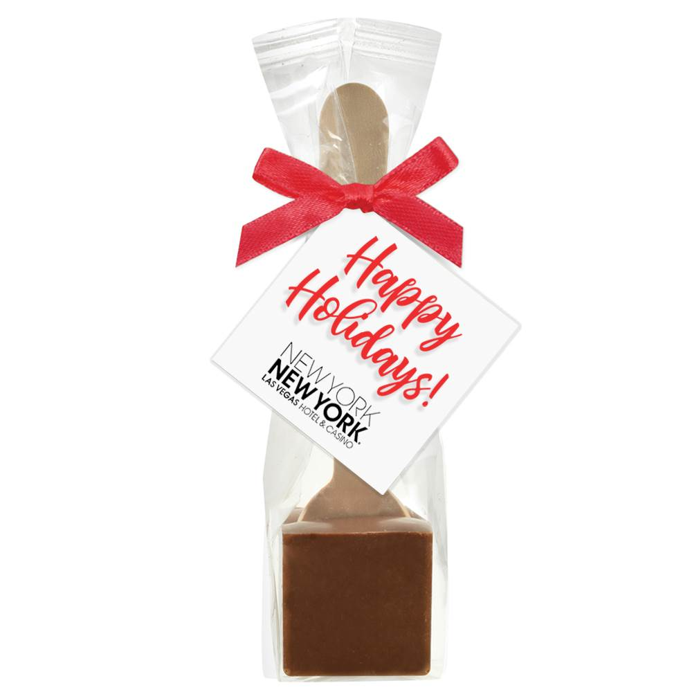 Hot Chocolate on a Spoon in Favor Bag - Personalization Available
