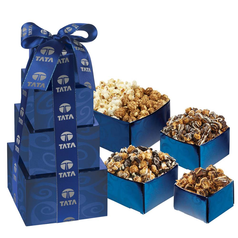 Popcorn Sampler Tower - Personalization Available