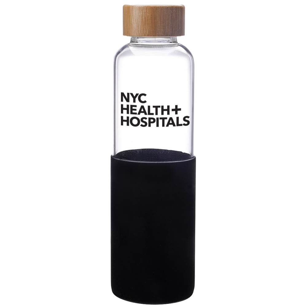 James Glass Bottle 18-Oz. - Personalization Available