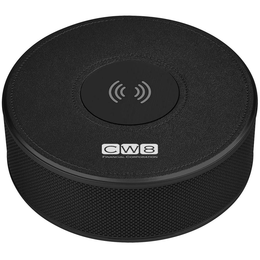Orbit Alarm Clock Speaker & 4,000 mAh Power Bank - Personalization Available