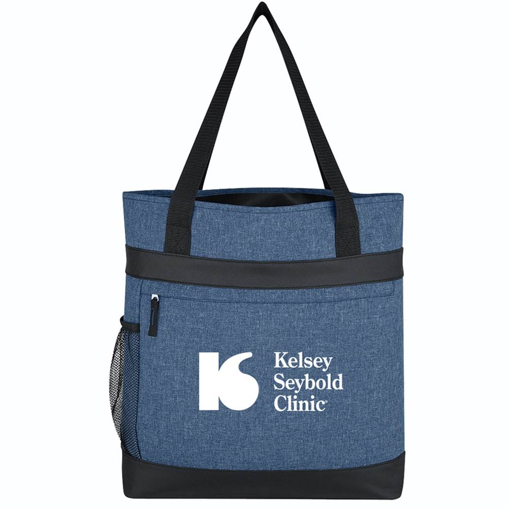 Hidden Zipper Outing Tote Bag - Personalization Available