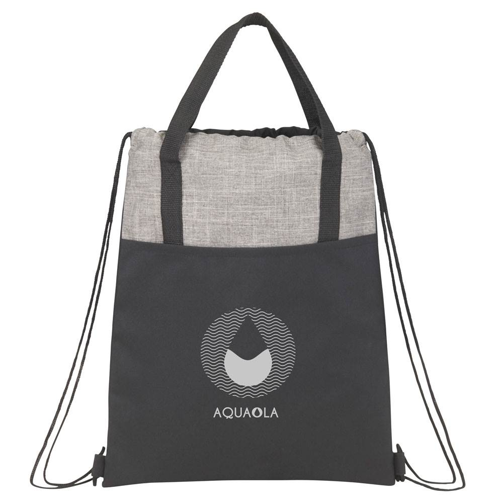 Cycle Recycled Drawstring Backpack - Personalization Available