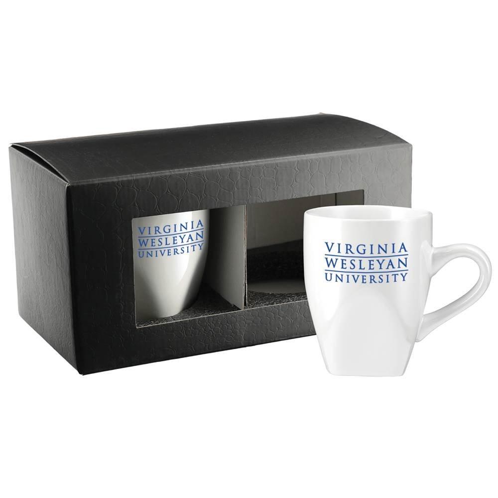 Cosmic Ceramic Mug 12-Oz. 2-in-1 Gift Set - Personalization Available