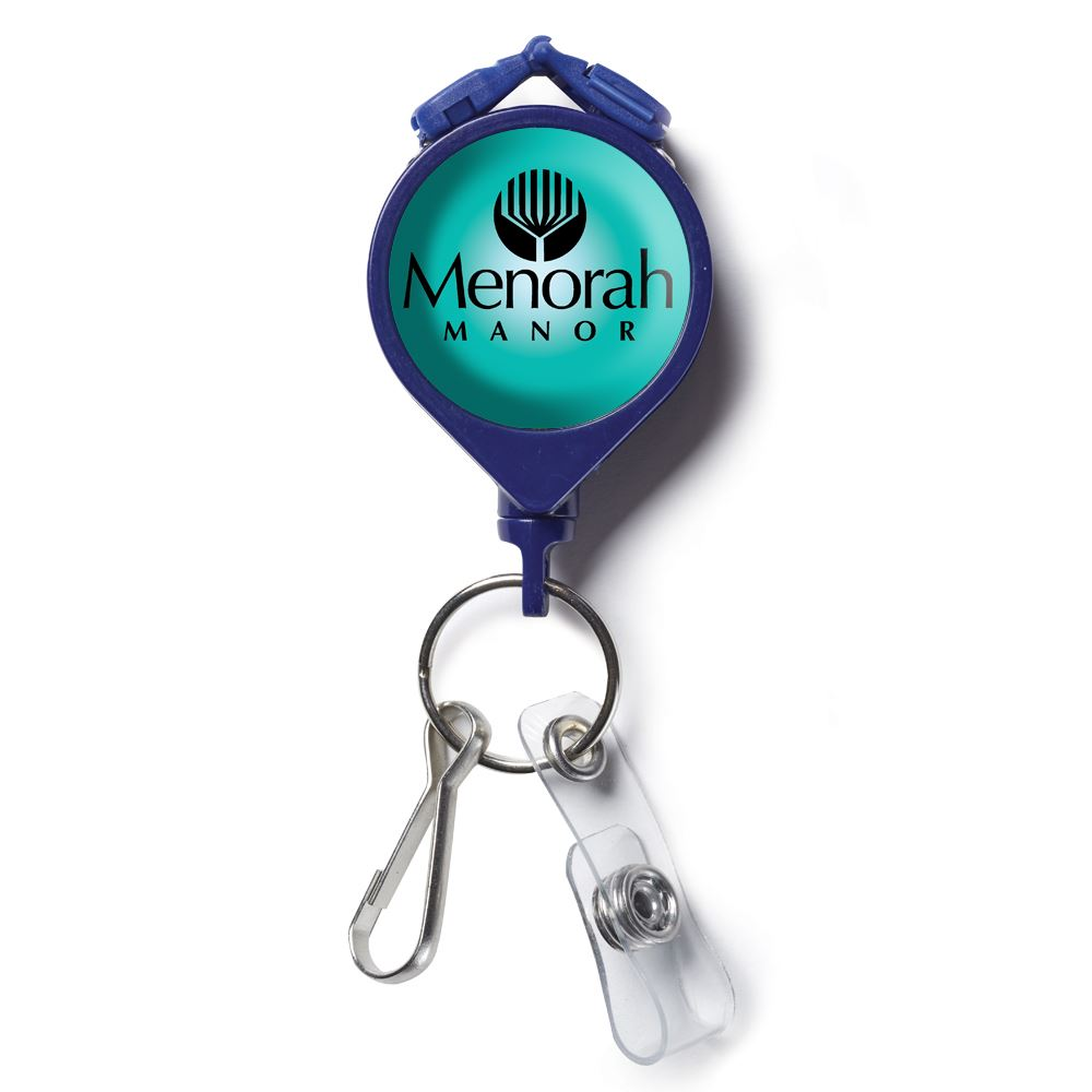 A-Just-A Lanyard With Badge Holder - Personalization Available