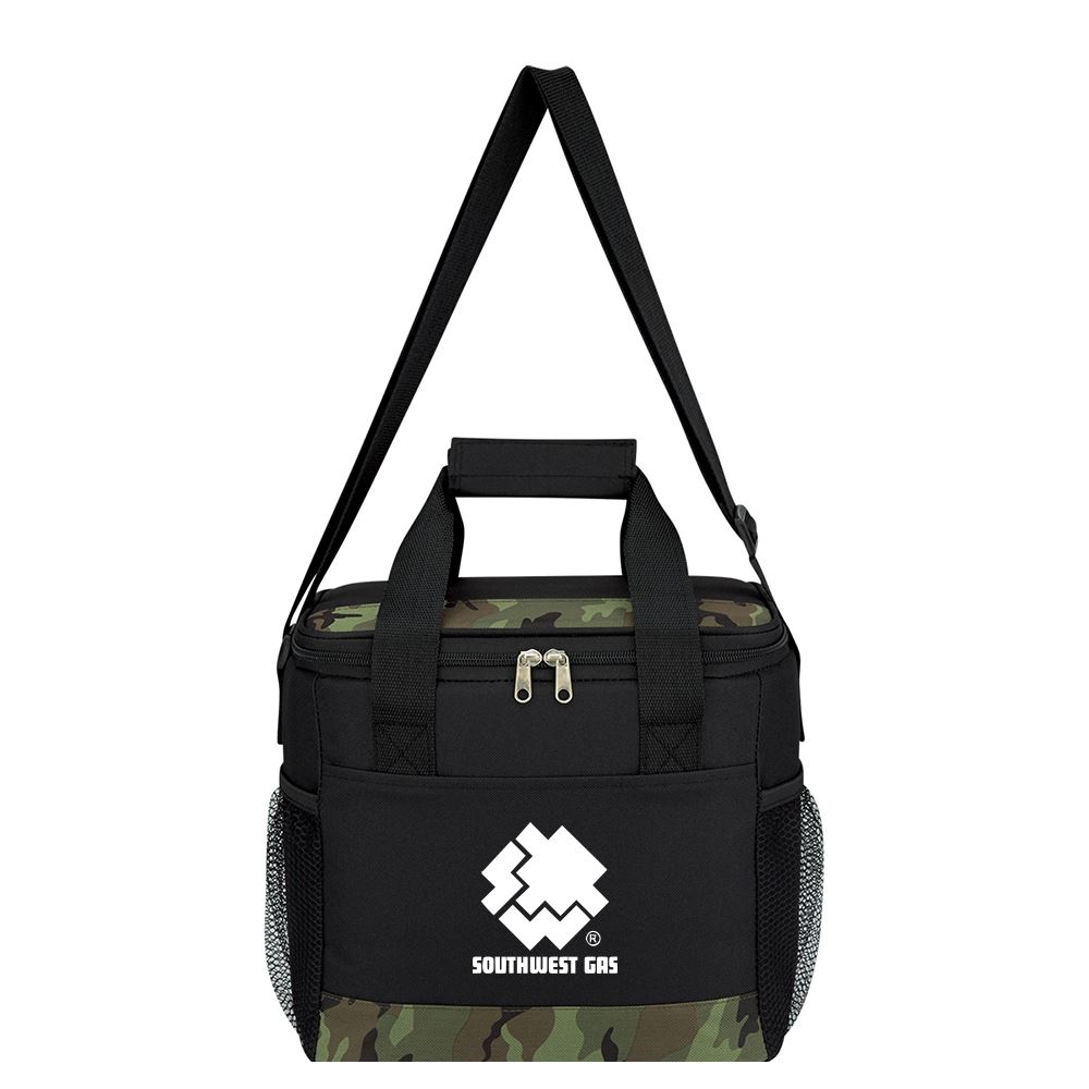Camouflage Accent Cooler Bag - Personalization Available
