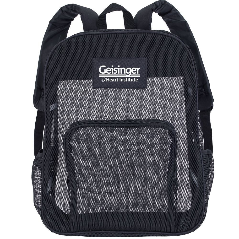 Mesh Backpack - Personalization Available
