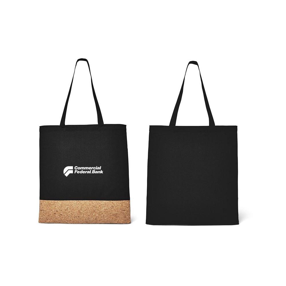5-oz Cotton/Cork Tote Bag - Personalization Available