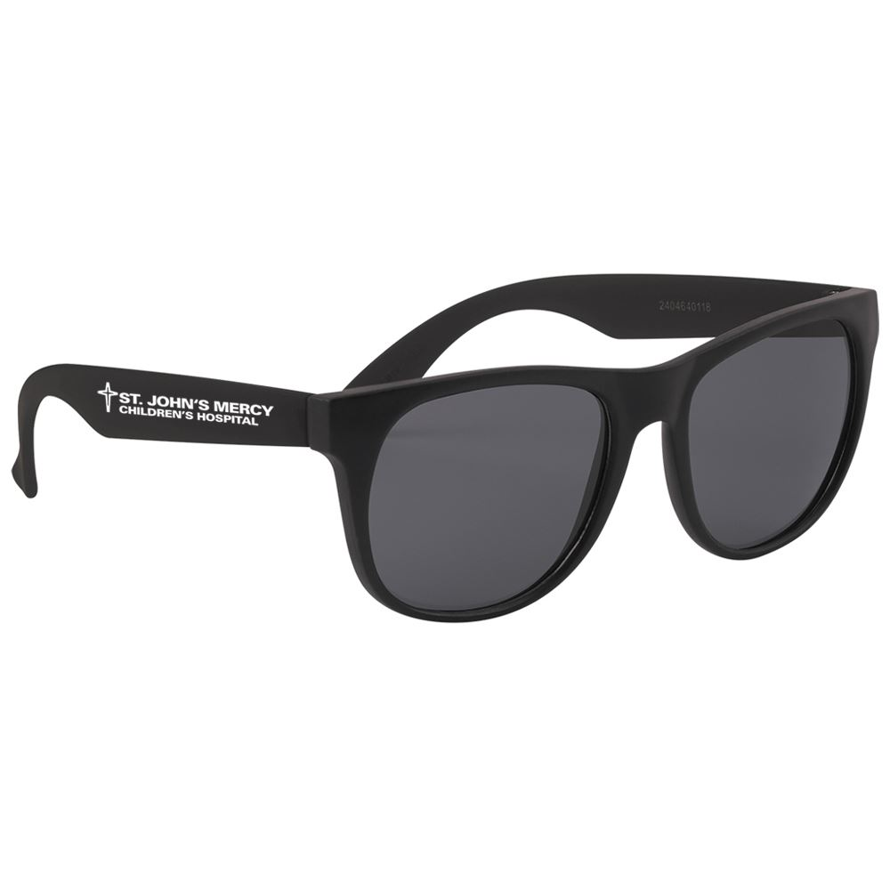 Youth Rubberized Sunglasses - Personalization Available