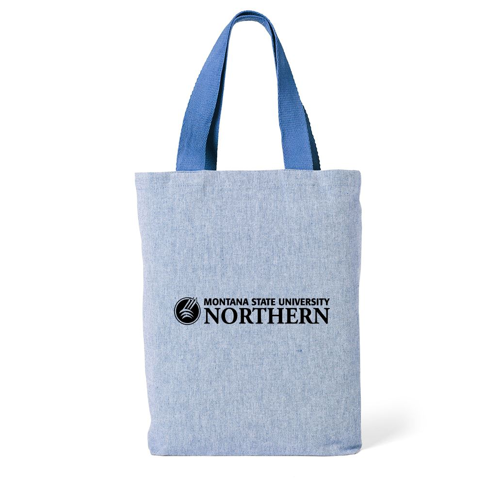 Cotton Chambray Tote Bag - Personalization Available
