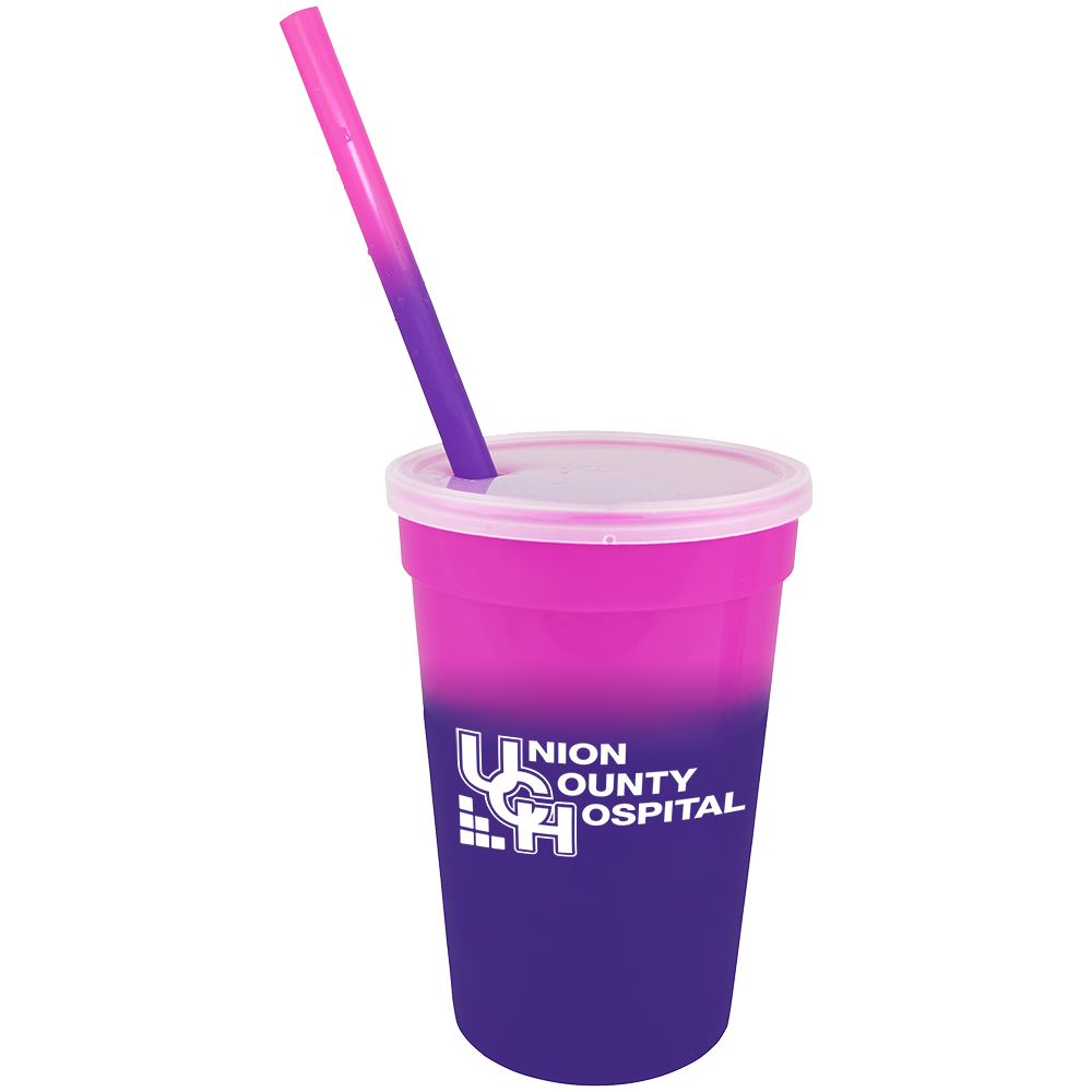 Mood Stadium Cup/Straw/Lid Set - Personalization Available