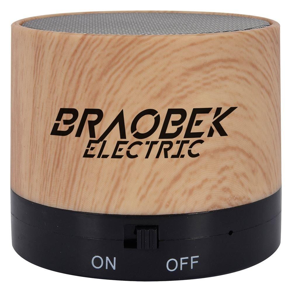Ace Wood Grain Wireless Speaker - Personalization Available