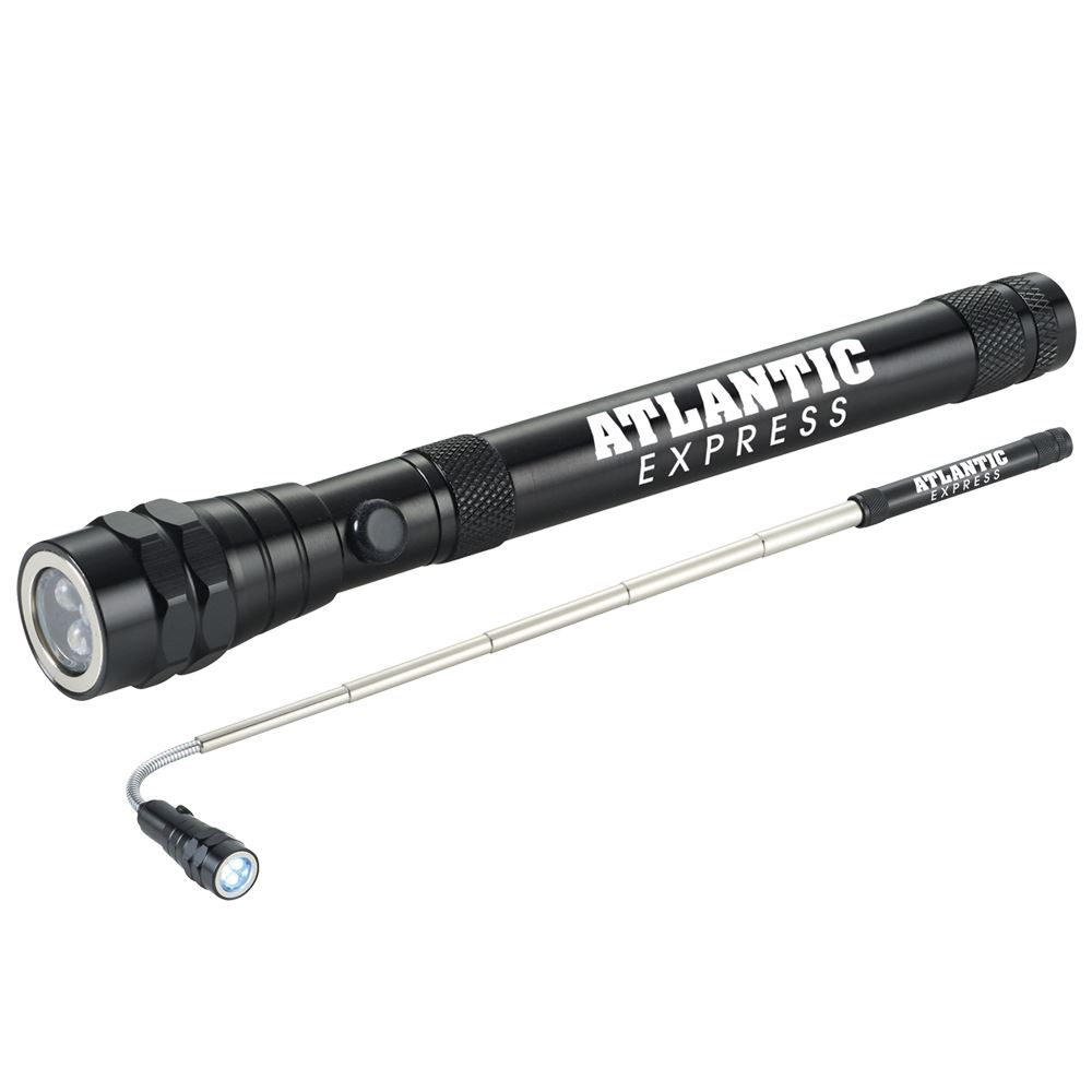 Flare Telescopic LED Magnetic Flashlight - Personalization Available