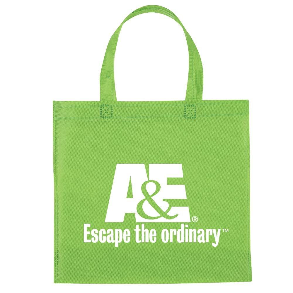 Non-Woven Mini Brochure Tote Bag - Personalization Available