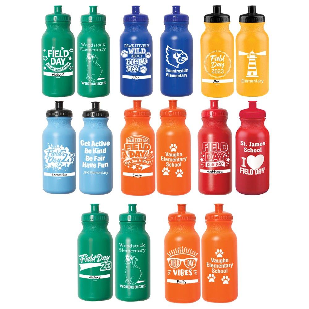 Field Day Sporty Squeeze Water Bottle - 20 Oz.