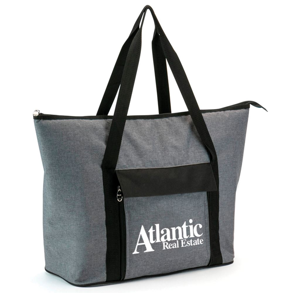 Picnic Cooler Tote 18-Piece Gift Set - Personalization Available