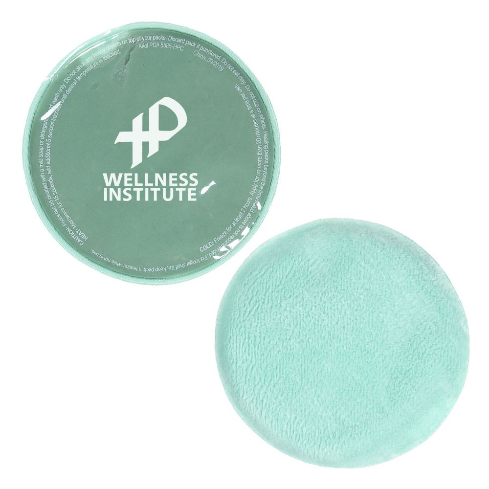 Comfort Clay® Round Hot/Cold Pack - Personalization Available