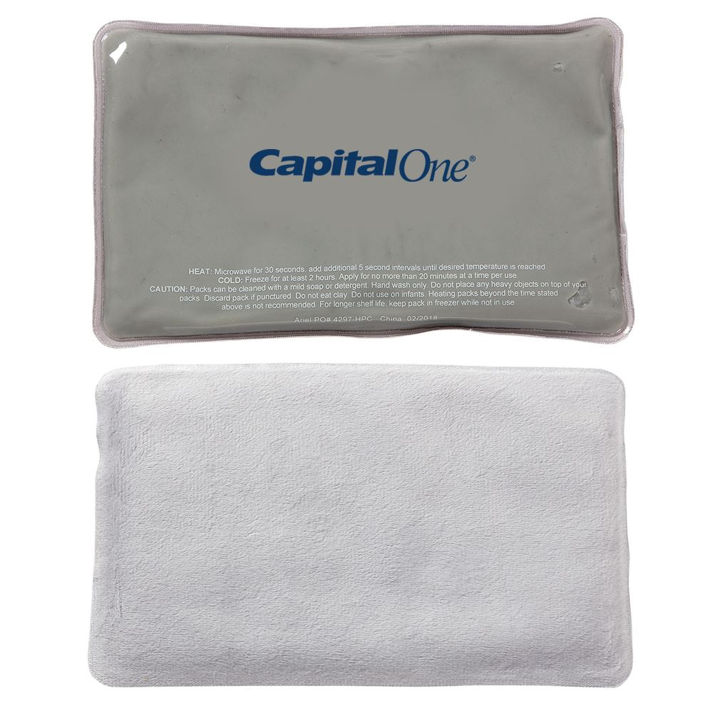 Comfort Clay® Rectangle Hot/Cold Pack - Personalization Available