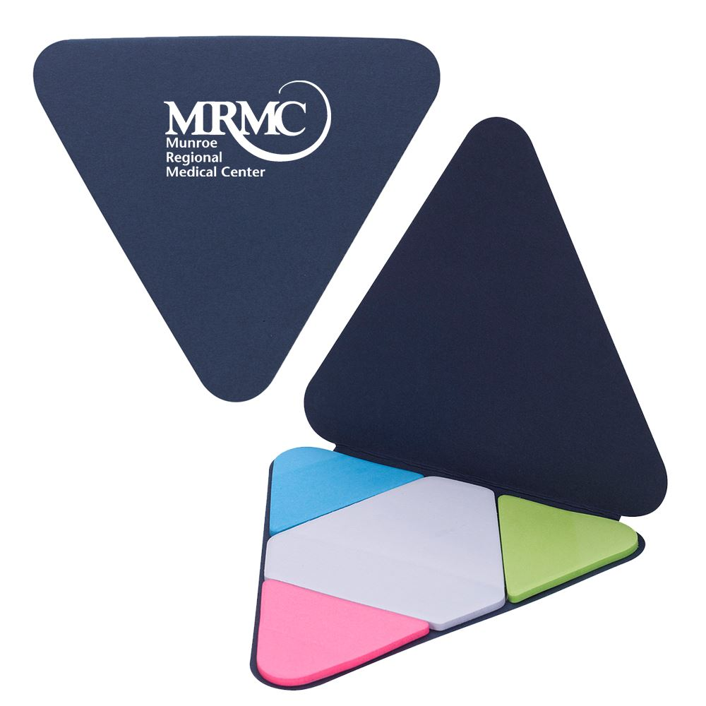 Triangle Shape Sticky Notes Pad - Personalization Available
