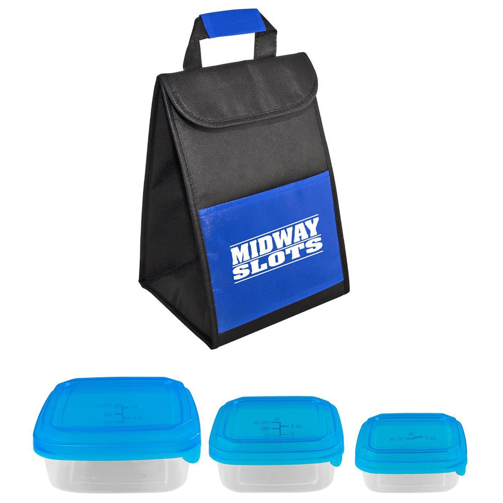 Portion Control Cooler Set - Personalization Available