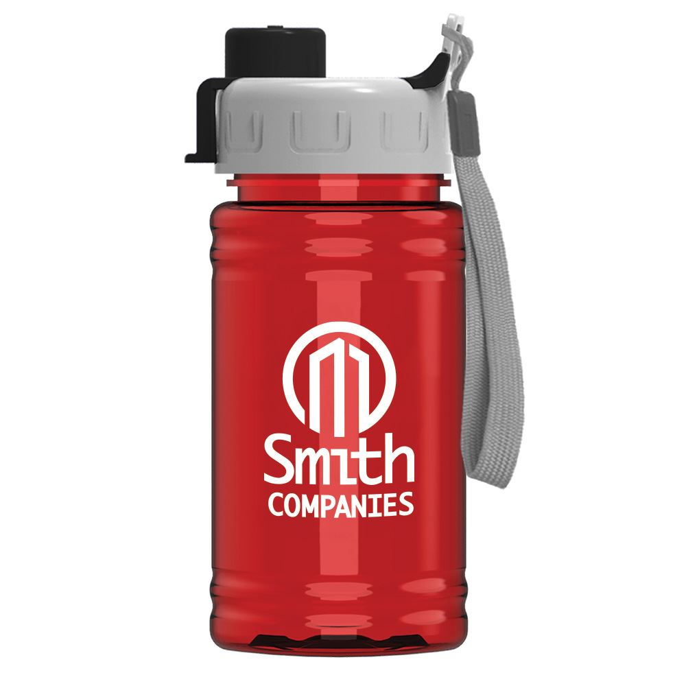UpCycle RPET�- Mini Sports Bottle16-Oz. With Quick Snap Lid - Personalization Available