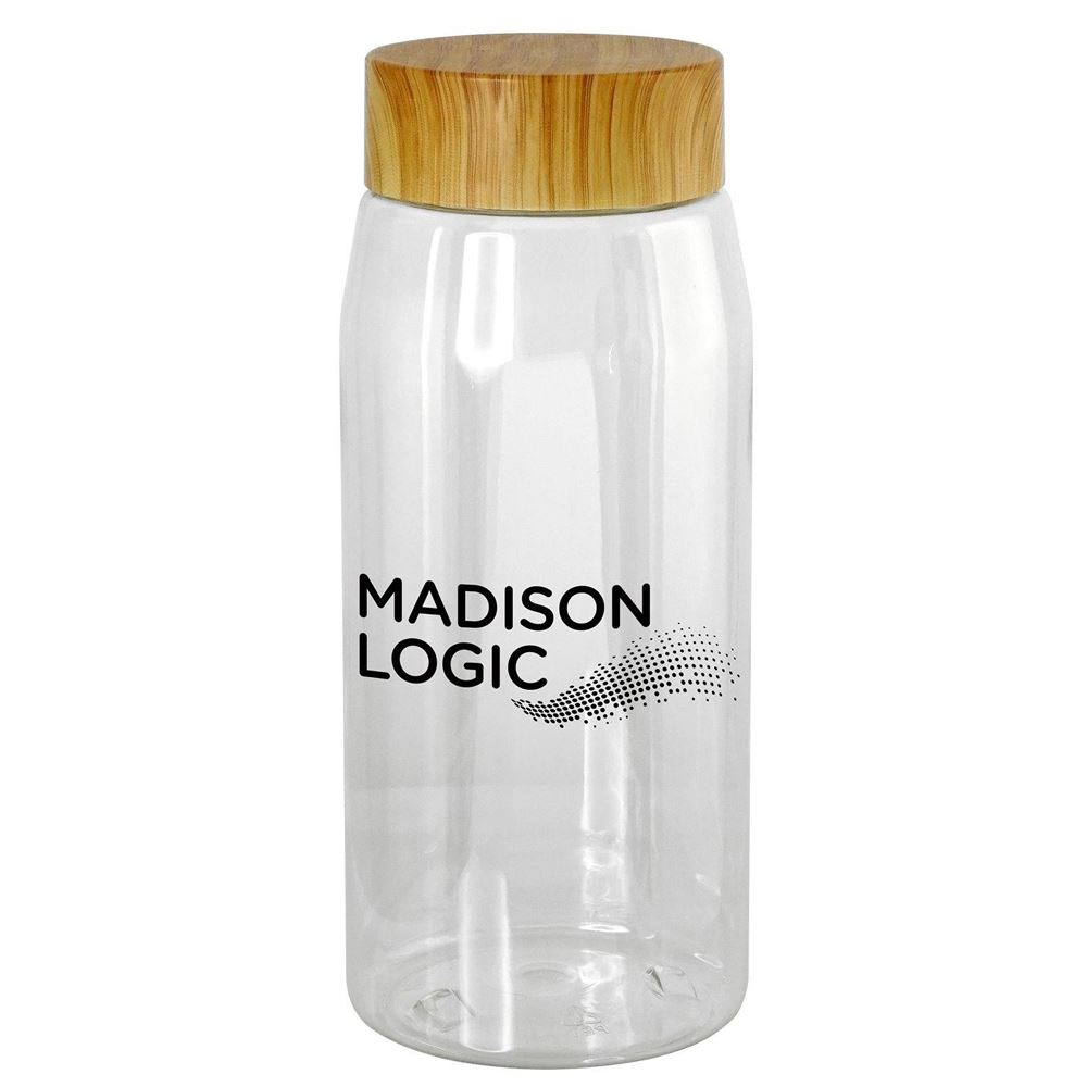 Water Bottle 25-Oz. With Bamboo Lid - Personalization Available