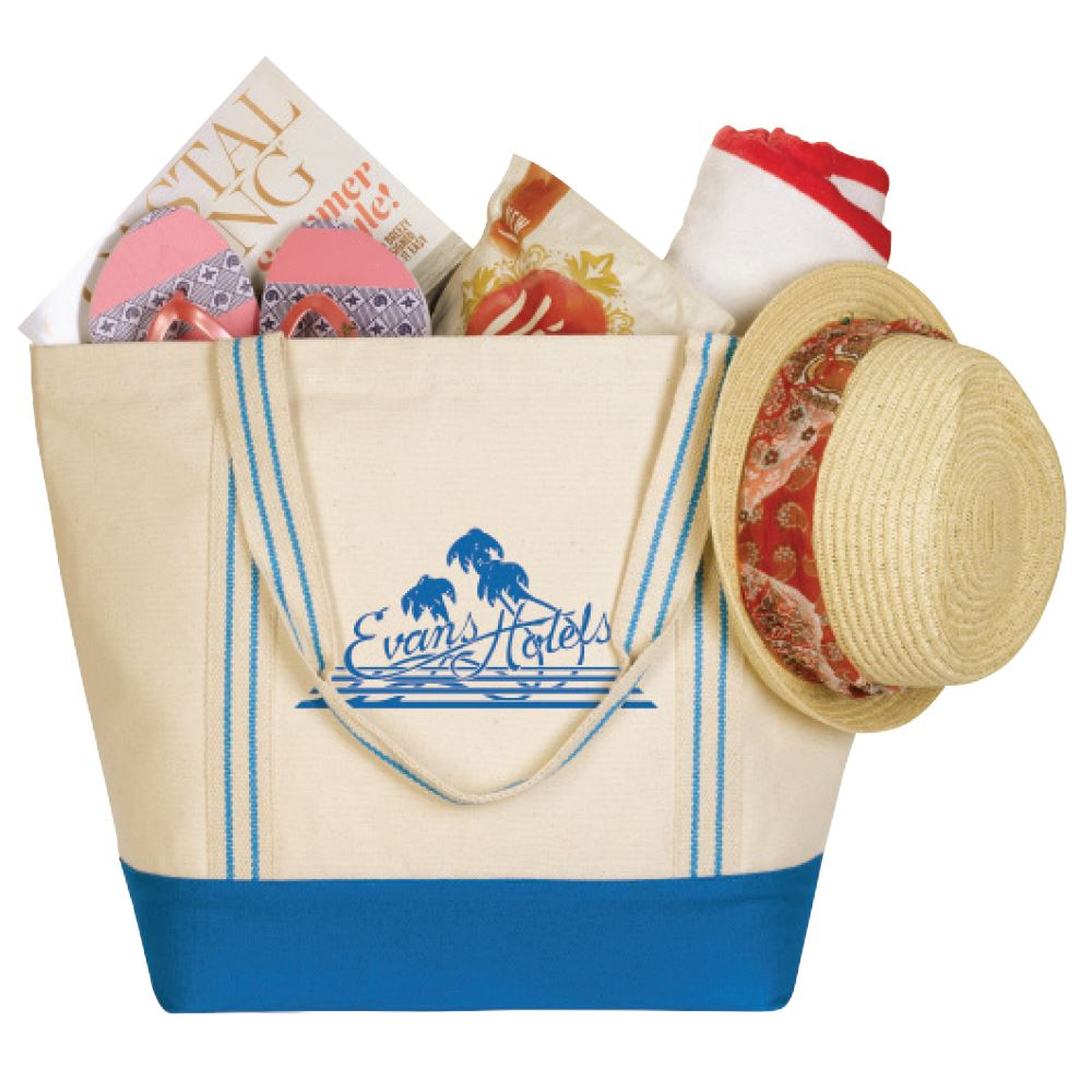 Cotton Travel Tote- Personalization Available