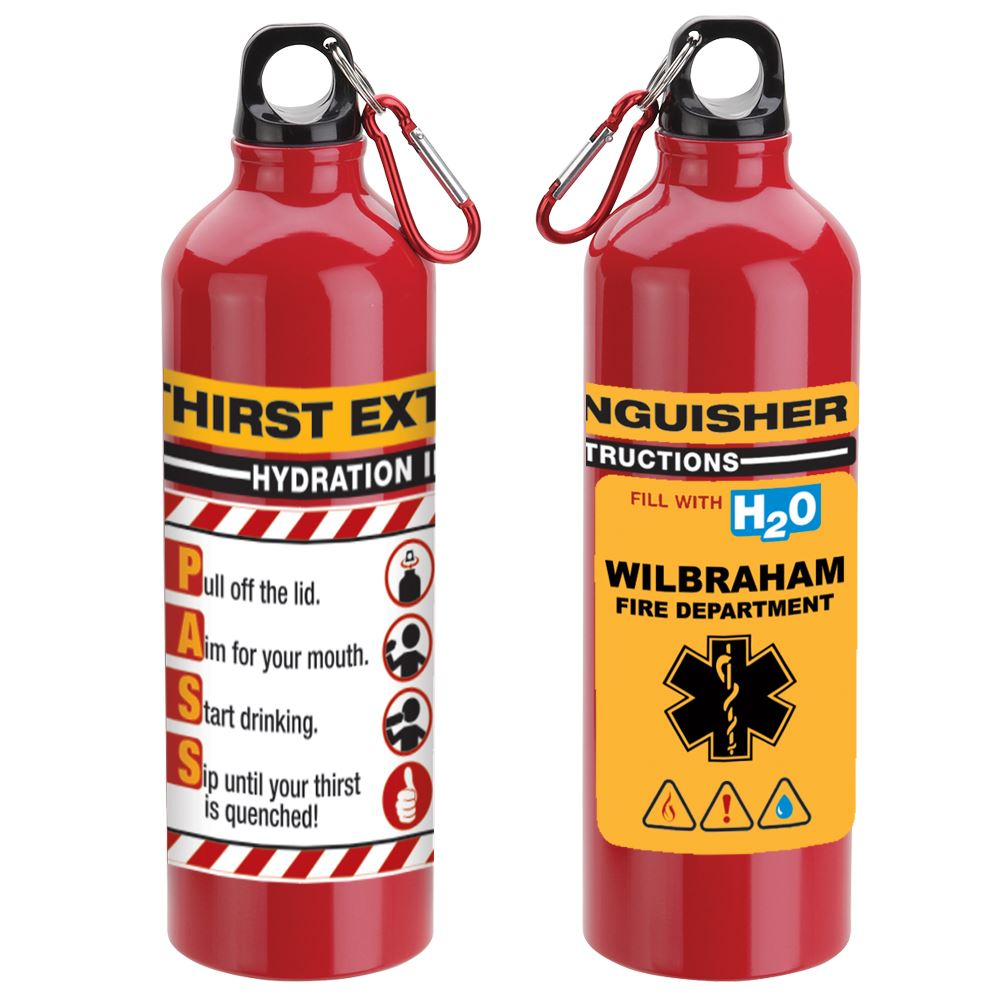 Thirst Extinguisher Water Bottle 25-Oz. - Personalization Available