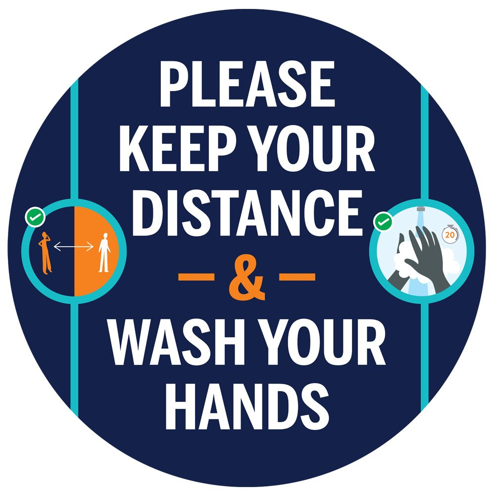 Please Keep Your Distance And Wash Your Hands�18