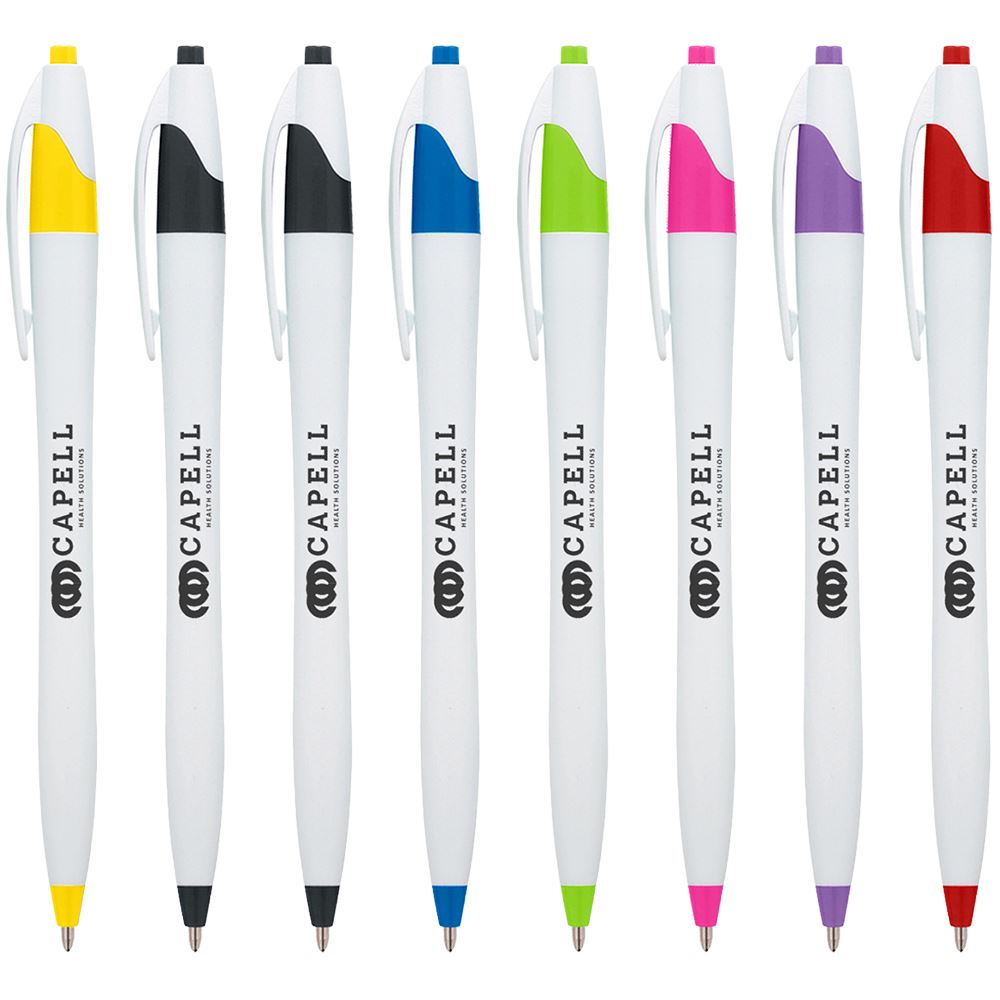 Dart Pen with Antibacterial Additive - Individually Wrapped - Personalization Available