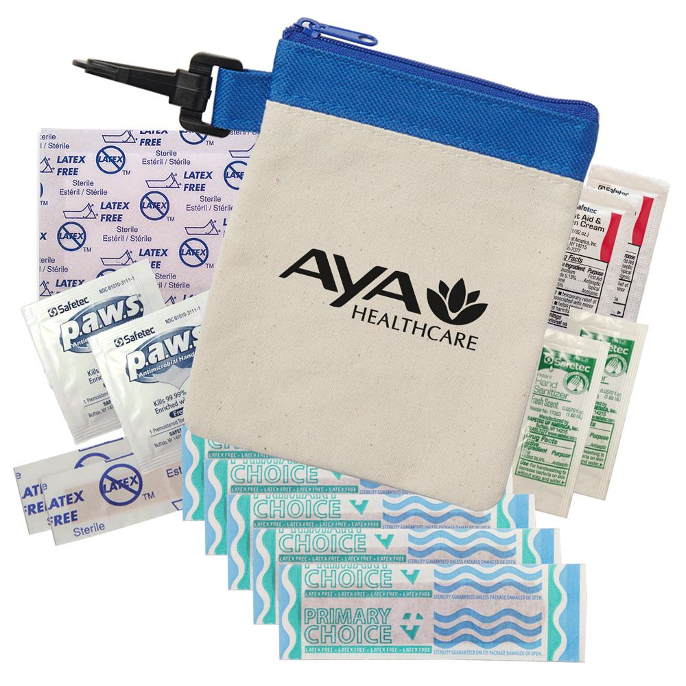 Clip It� Canvas First Aid Kit - Personalization Available