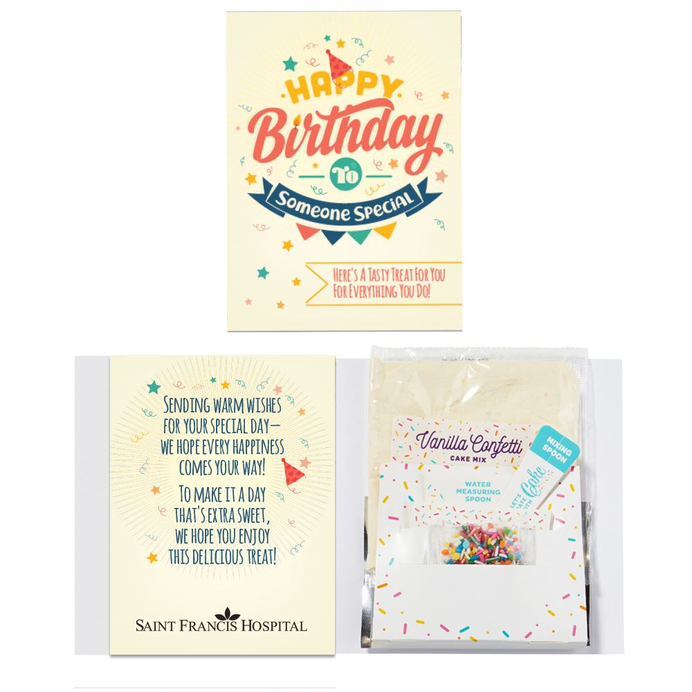 Happy Birthday To Someone Special Instacake and Card - Personalization Available