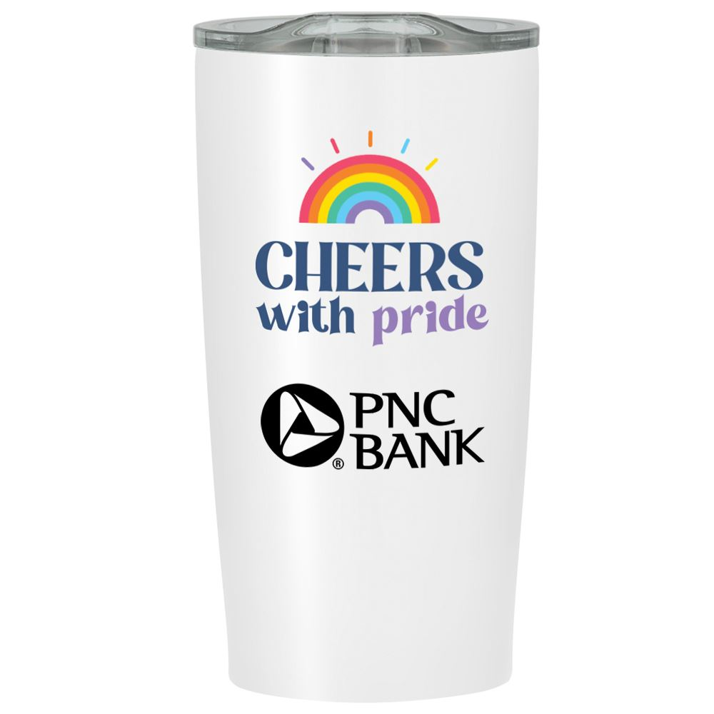 Cheers With Pride Himalayan Tumbler 20 Oz. - Personalization Available