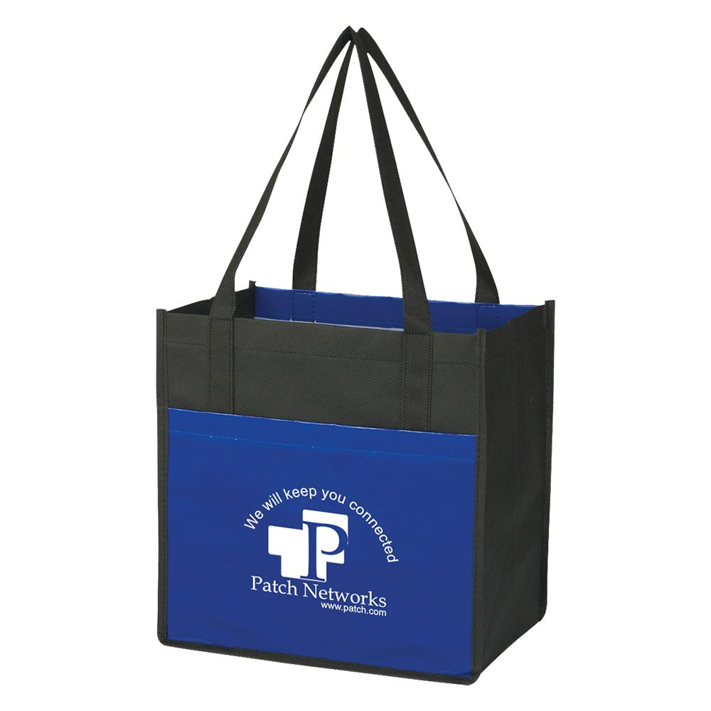 Lami-Combo Non-Woven Shopper Tote Bag