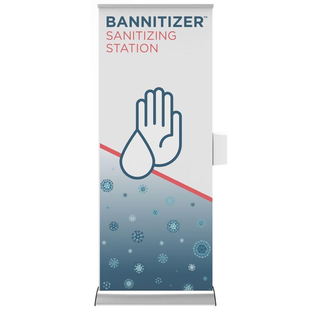 Bannitizer Sanitizing Station - Personalization Available