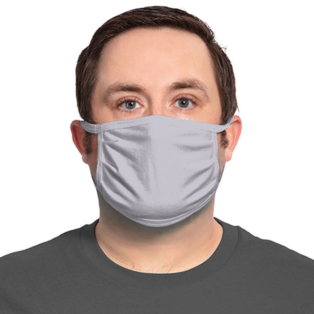 Port Authority 3-Ply 100% Cotton Face Mask