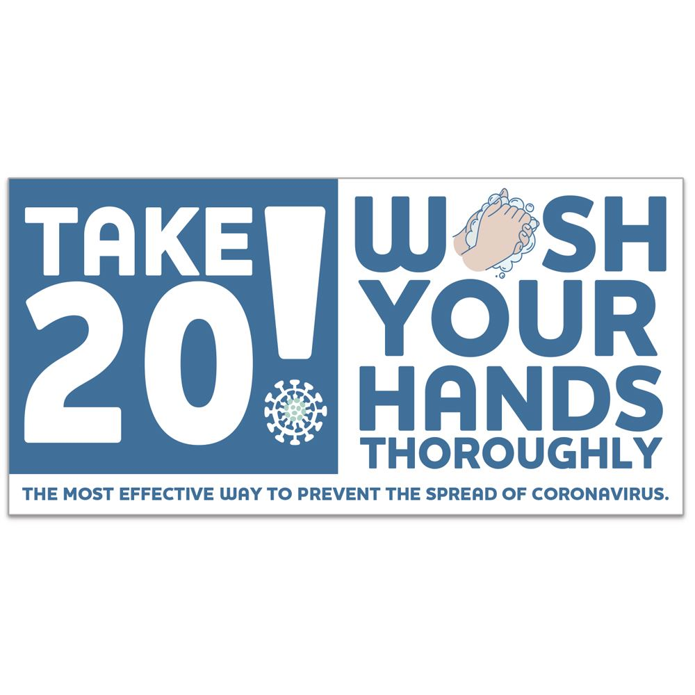 Take 20! Wash Your Hands Thoroughly 4