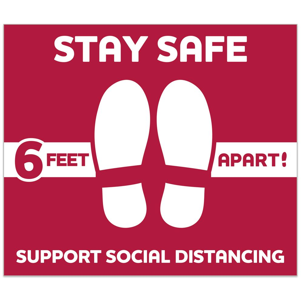 Stay Safe Support Social Distancing 12