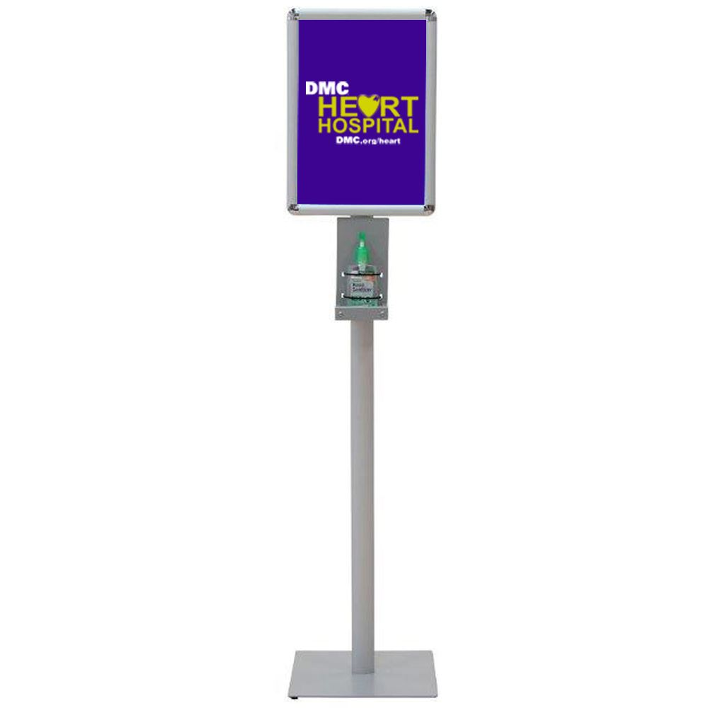 Deluxe Hand Sanitizer Stand Kit with Personalization Available