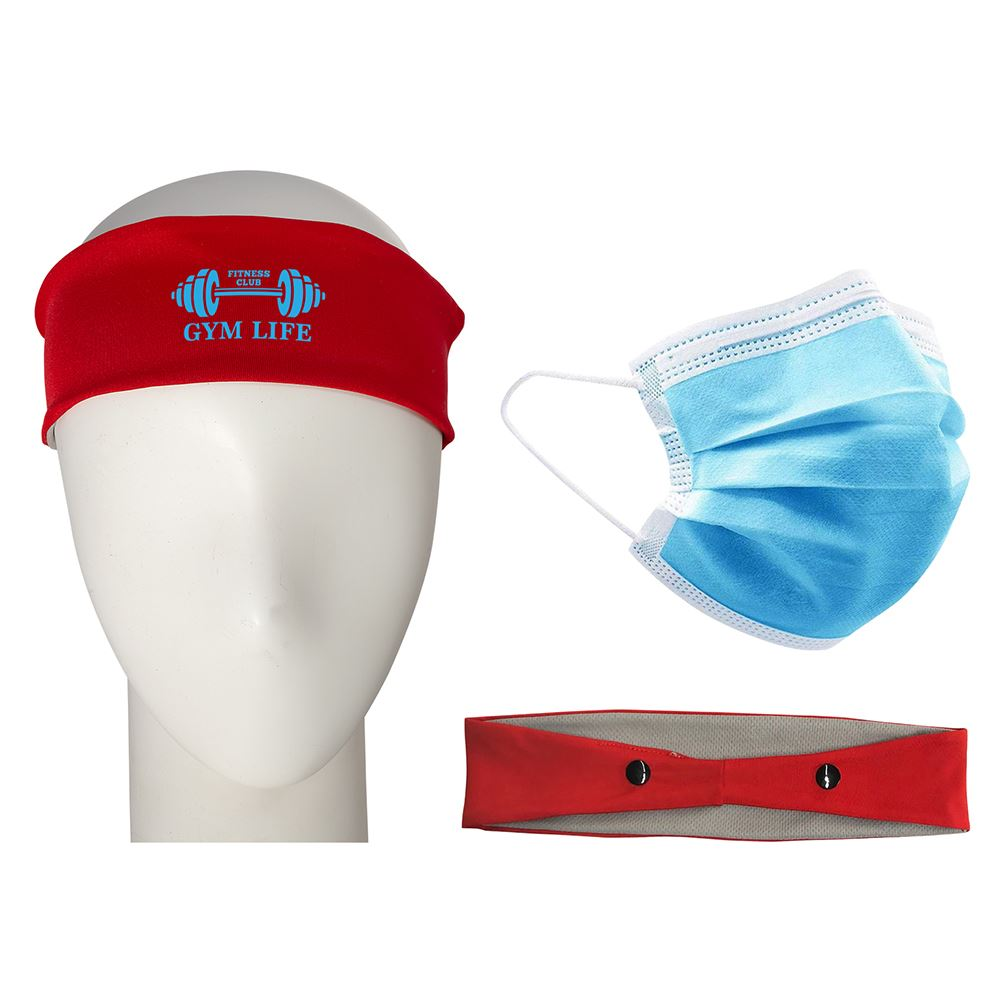 PPE Combo with Mask and Headband - Personalization Available