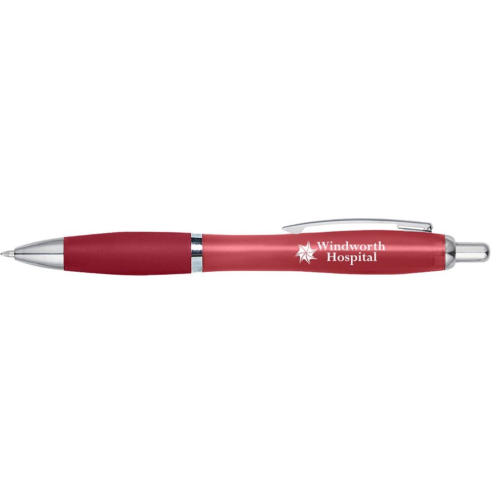 Satin Pen with Antibacterial Additive - Personalization Available