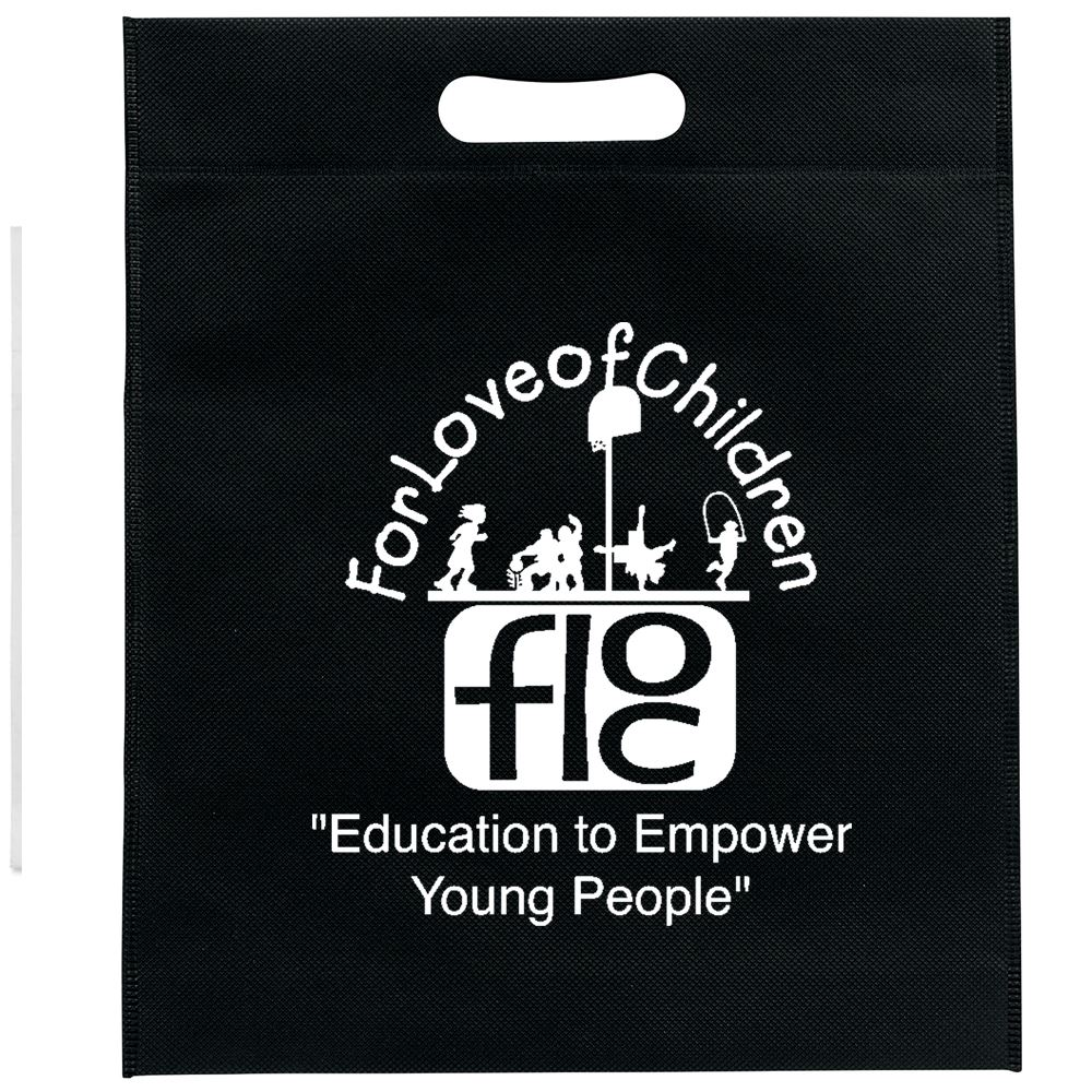Large Halloween Non-Woven Die Cut Bag - Personalization Available