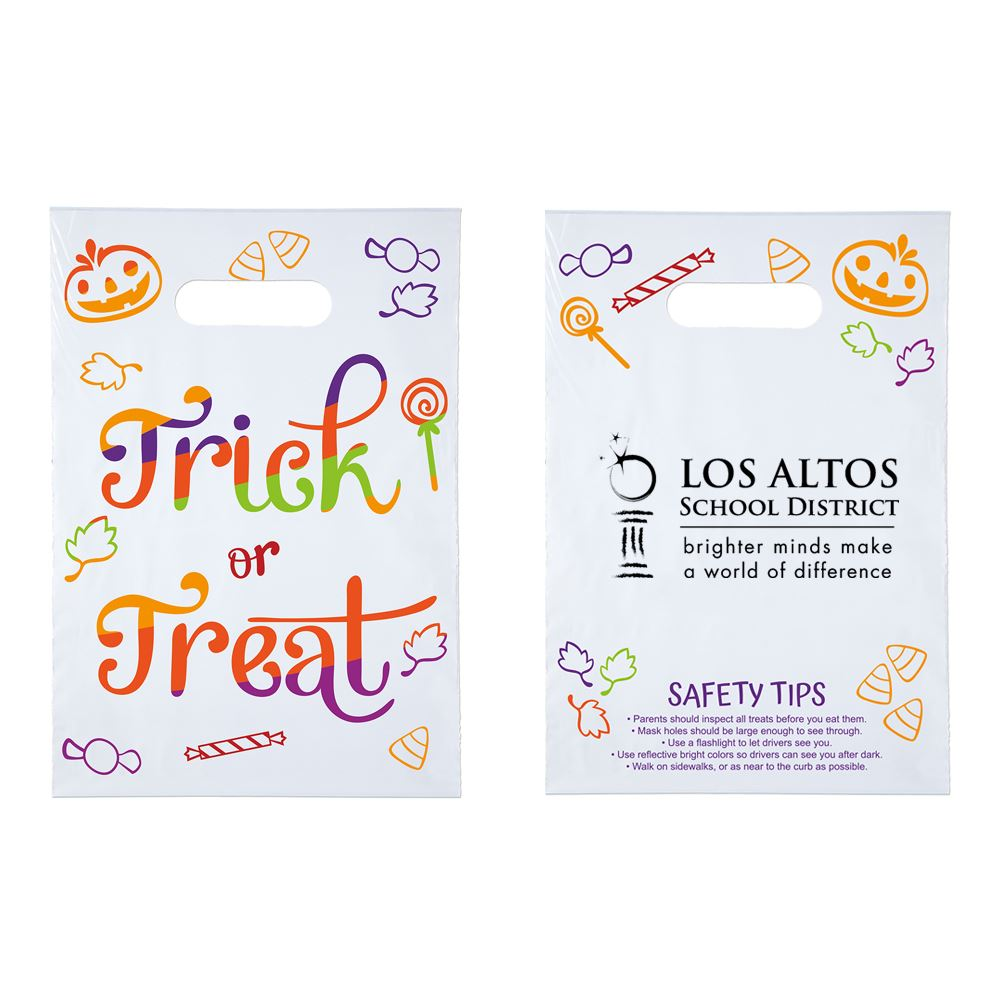 Trick Or Treat Halloween Goody Bag - Personalization Available