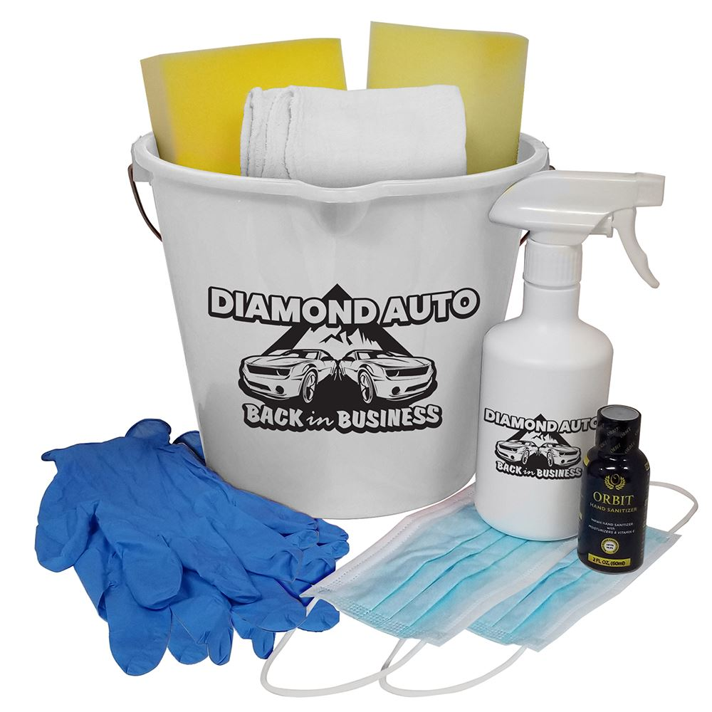 Reopening Cleaning Kit - Personalization Available