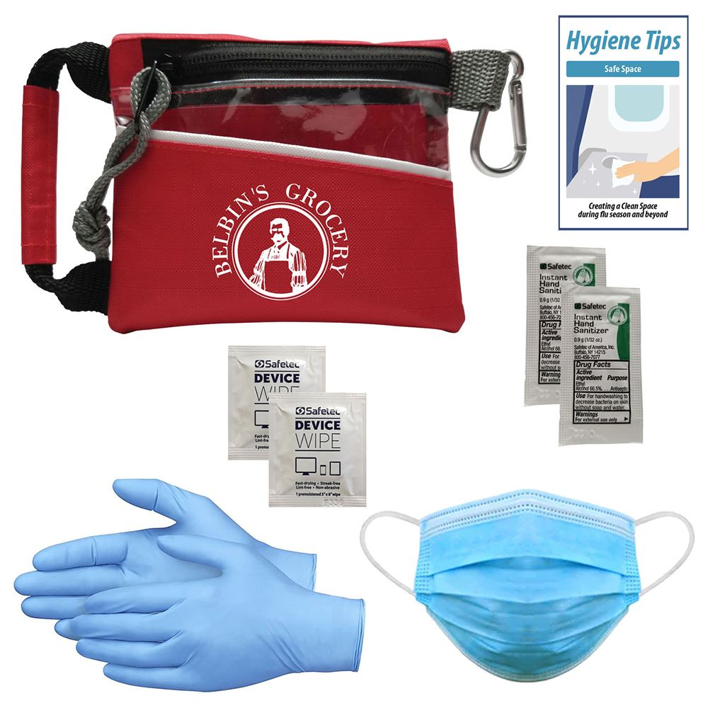 Back to Work PPE Kit - Personalization Available