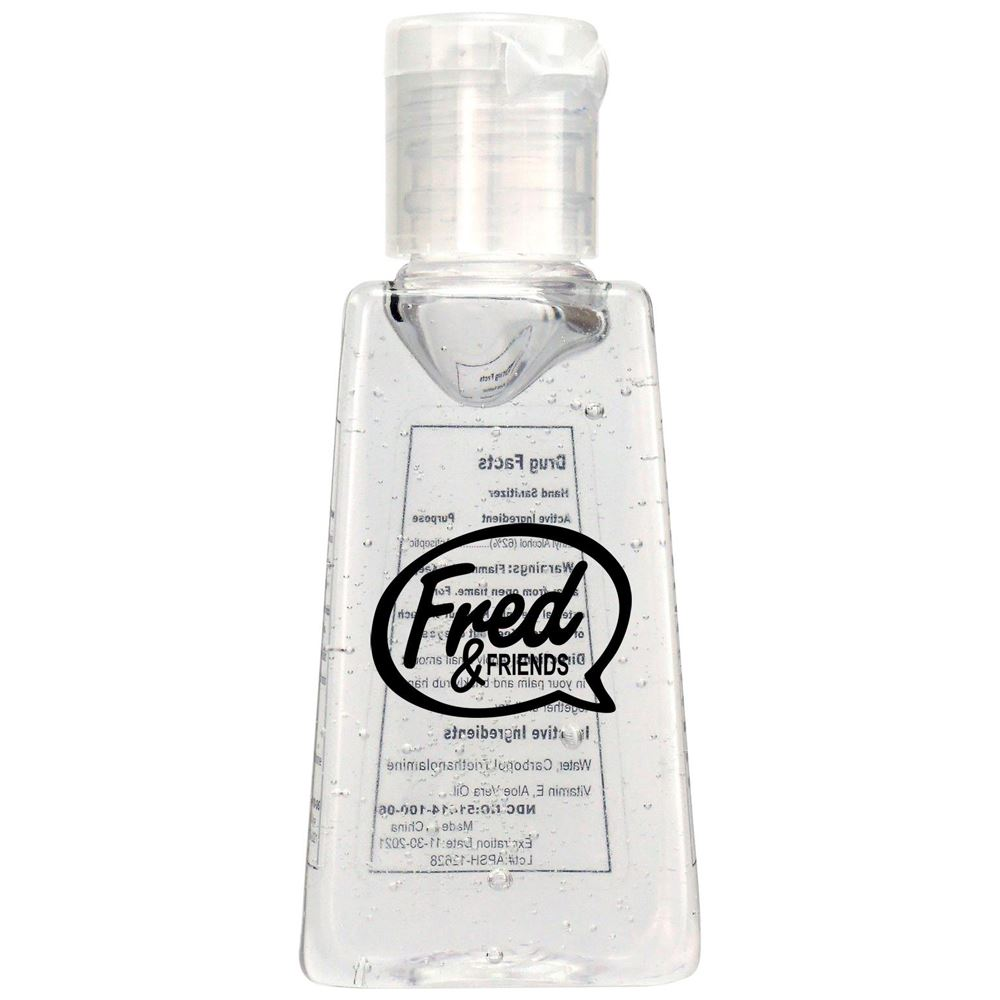 1 Oz. Trapezoid Hand Sanitizer - Personalization Available