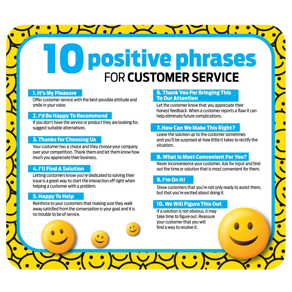 Positive Phrases Recycled Mouse Pad